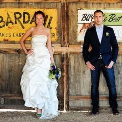 Old Wild West Wedding Ceremony