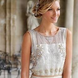 Vintage 1920 Wedding Dresses 32 Elegant  Vicky Rowe Vintage