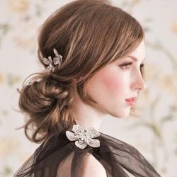 Wedding hair style 2013