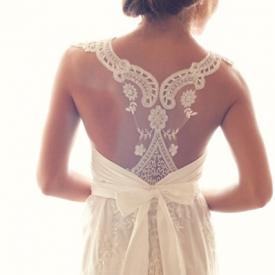 24 racerback wedding dresses | weddinggawker