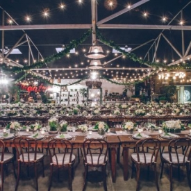 antiques warehouse wedding