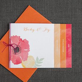 ... Wedding Invitation Booklet