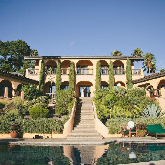 San francisco villa wedding weddinggawker san francisco villa wedding junglespirit Images