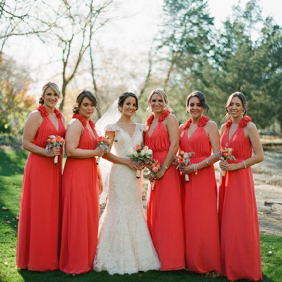 Elegant ... Coral Wedding Ideas