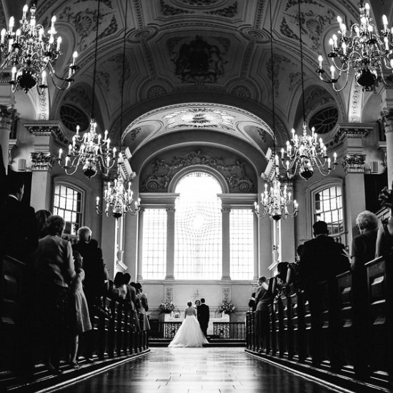 St Martin In The Fields Wedding Uk