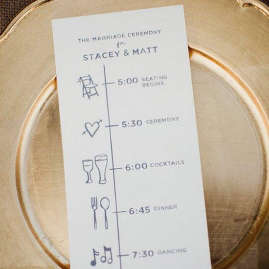 15 Wonderful Wedding Programs Weddinggawker