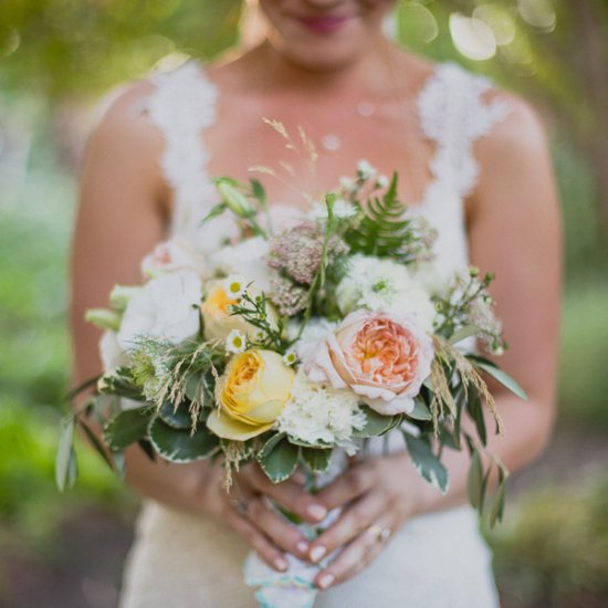 summer garden bouquet weddinggawker