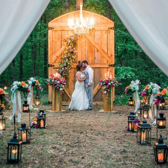 Southern Outdoor Diy Wedding
