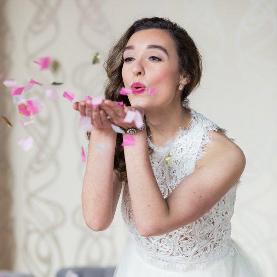 kate spade inspired bridal shower   weddinggawker