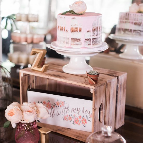 a boho bridal shower in miami