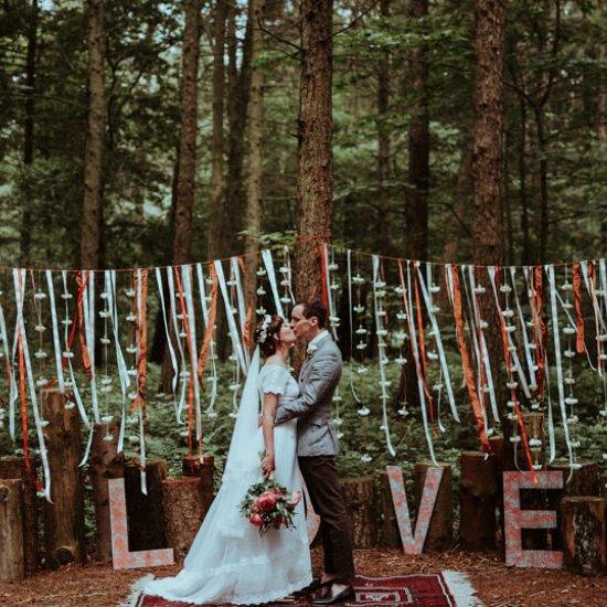 ribbon decorations gallery | weddinggawker