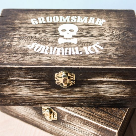 Diy Groomsmen Boxes Weddinggawker