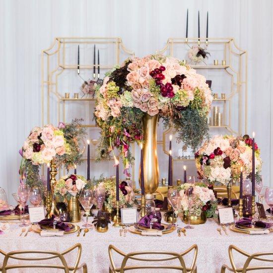 romantic blush vibiana wedding