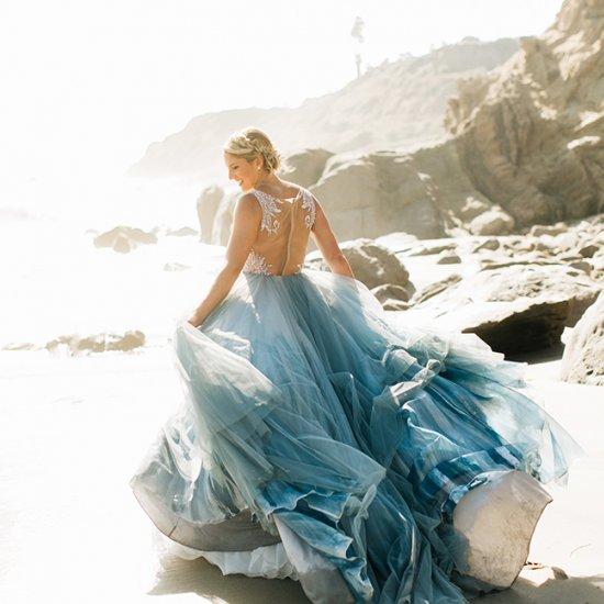 ... Dreamy Dusty Blue Wedding Dresses