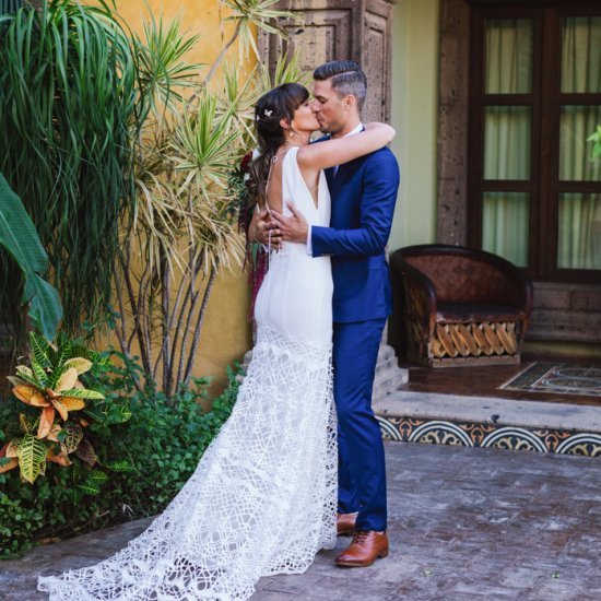 Mexican Wedding Dress.Sultry Tropical Mexican Wedding Weddinggawker