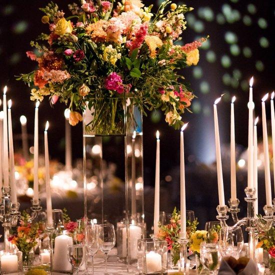 tall wedding centerpiece ideas | weddinggawker